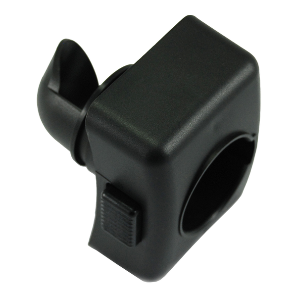 Hose Inlet - Plastic - Black - 45mm
