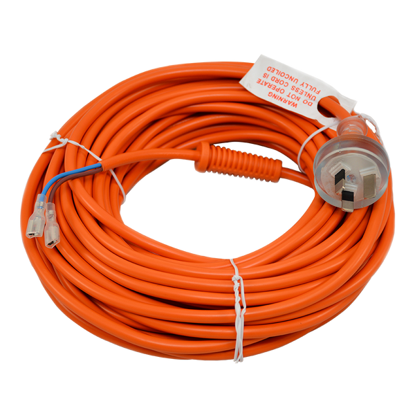 Power Cord - Hard Wired - 18m - 2C - Plug Type I