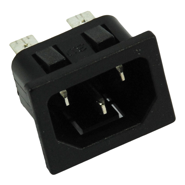 Power Inlet - IEC C14 - Panel Mount