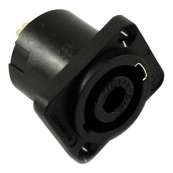 Power Inlet - Neutrik NLMP Male Connector - 4 Contact