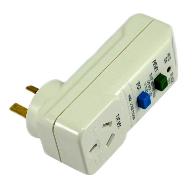 RCD - Piggy Back - Plug Type I