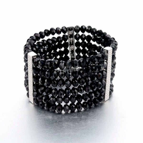 Up All Night Deco Crystal Bracelet | VaVaVoo Subscription Jewelry