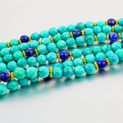 Turquoise and Lapis 3-Piece Set