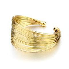 Gold Orbital Cuff | VaVaVoo Jewelry