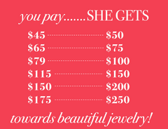 VaVaVoo Gift Card | Fashion Jewelry