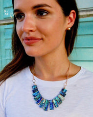 Abalone Collar Necklace