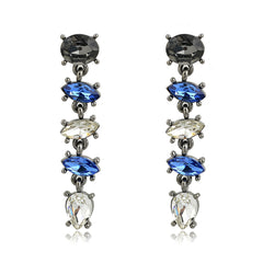Blue Gemstone Earrings | VaVaVoo Jewelry
