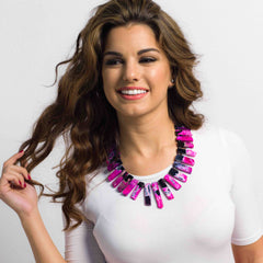 Pink Bold Statement Collar