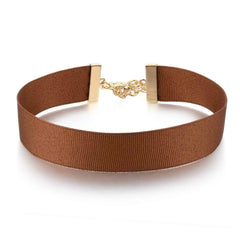 Trendy Brown Choker