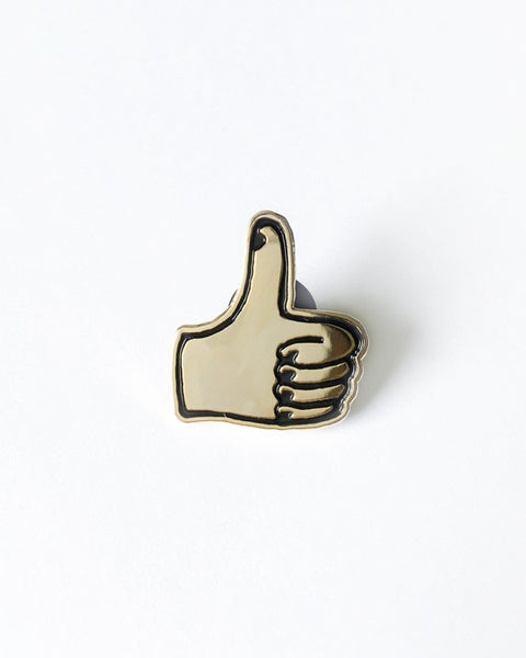 Thumbs Up Pin (Gold)