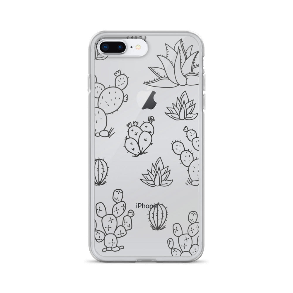 Cacti iPhone Case