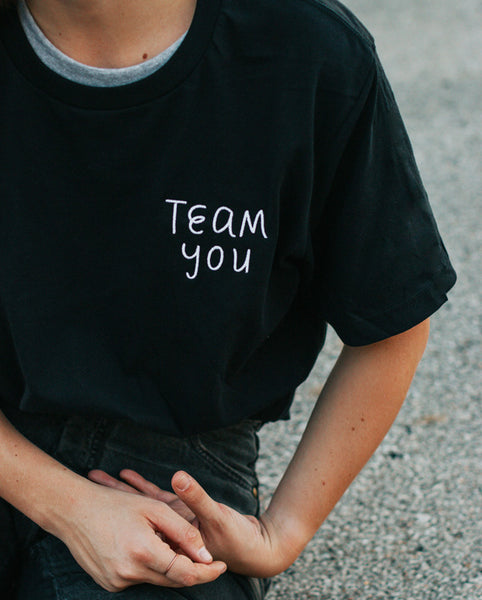 Team You Embroidered T-Shirt*
