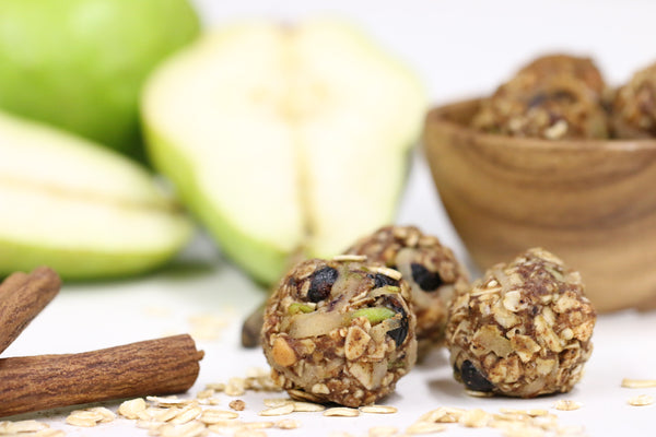 Apple Chocolate Energy Balls