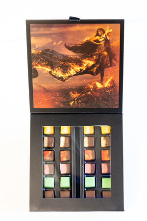 "48 piece Fudgelette™ Box - ""Forging Fire"" - Pele"
