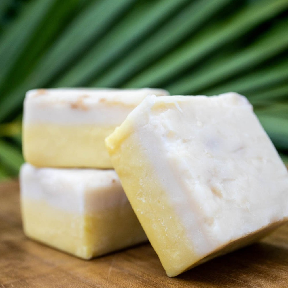 Hawaiian Wedding Cake Fudge