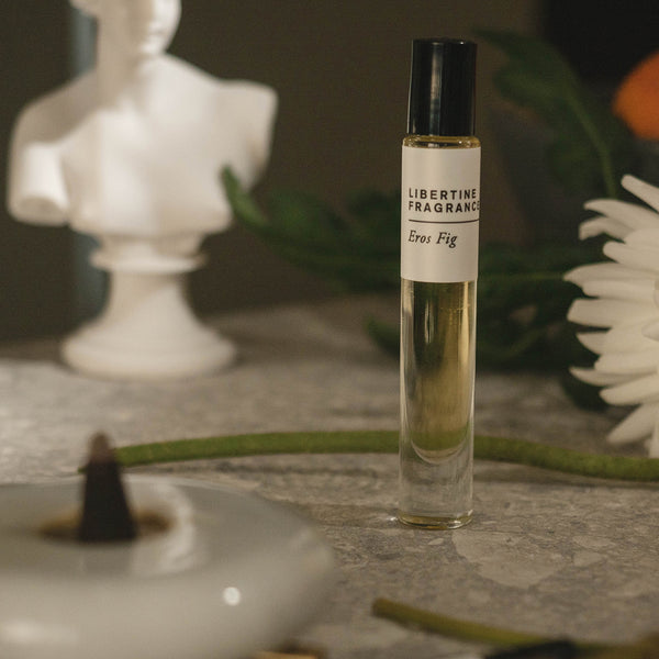 EROS FIG Perfume Oil- Fig Leaf, Dried Fig, Sandalwood