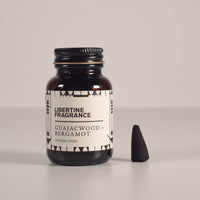 Incense Cones - Guaiacwood & Bergamot