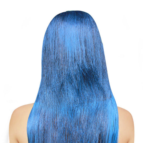 Metallic Blue Haircolor Spray