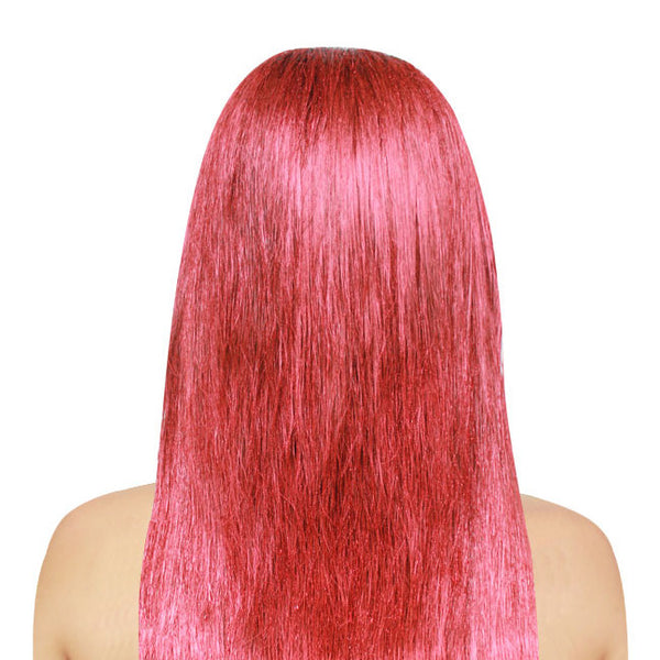 Metallic Red Haircolor Spray