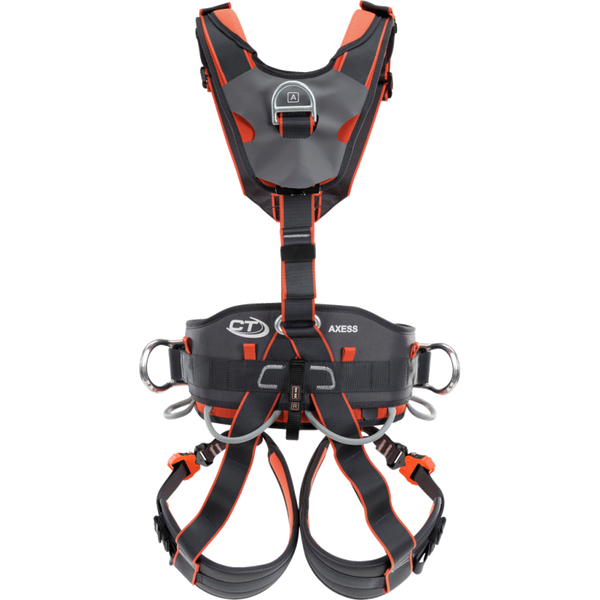 Climbing Technology Axess Ascender Harness Back