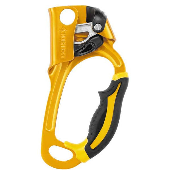 Petzl Ascension yellow ascender rope access Pacific Ropes