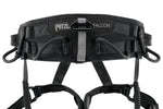 Petzl Falcon Mountain Harness Black Pacific Ropes Back