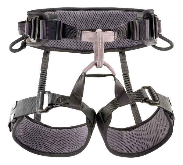 Petzl Falcon Mountain Harness Black Pacific Ropes