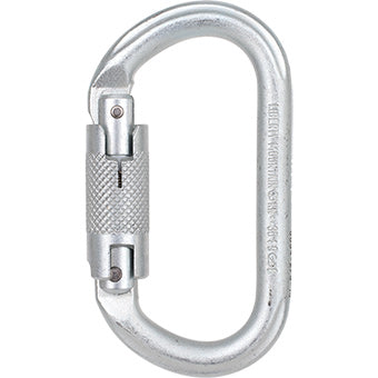 Liberty Mountain Steel Oval Carabiner