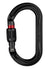 Petzl Ok Carabiner Black Screw Lock Pacific Ropes