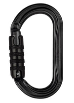 Petzl OK Carabiner Trilock Black Pacific Ropes