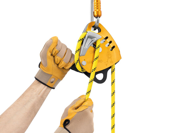 Petzl Maestro S In use