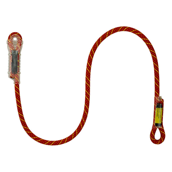 Sterling Rope Phenom Dynamic Lanyard Pacific Ropes Red