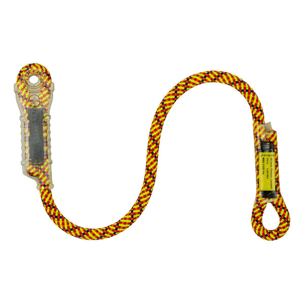 Sterling Rope Phenom Dynamic Lanyard Pacific Ropes Yellow