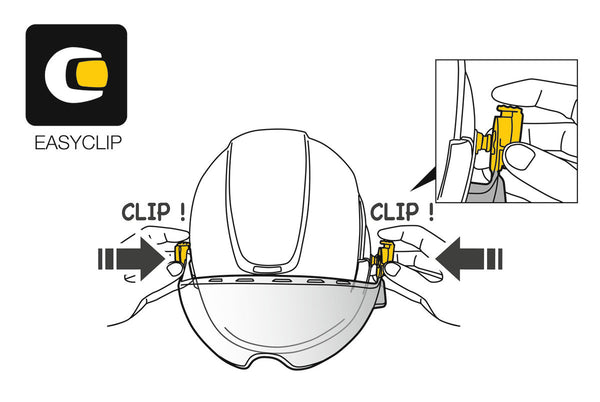 Petzl Vizen Mesh Face Shield Pacific Ropes Illustration