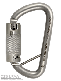 Rock Exotica RockD Stainless Carabiner