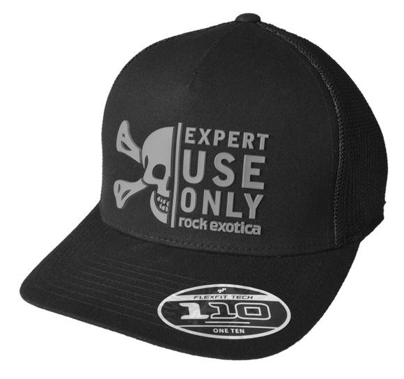 Rock Exotica RockTrucker Hat Pacific Ropes Black