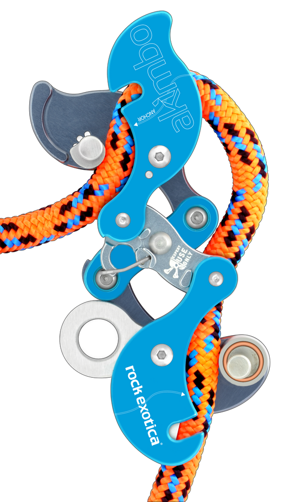 Rock Exotica Akimbo Descender Pacific Ropes