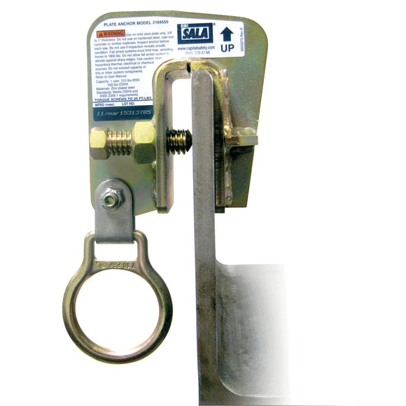 Steel Plate Anchor with Bolt-on 3M DBI-SALA