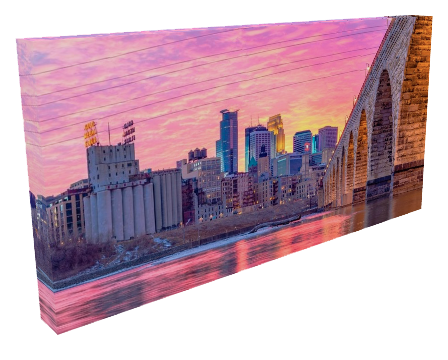 Stone Arch Colorful Sunset