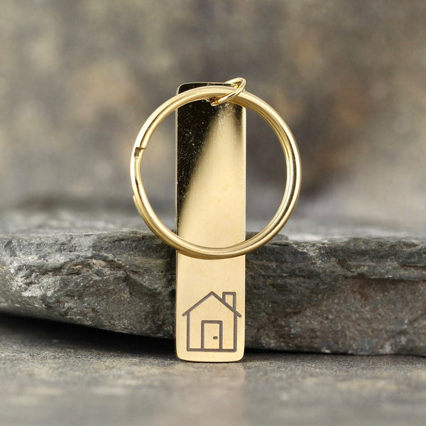 GOCLEANCO House Keychain - a Go Clean Co and A Second Time collaboration - #yyc small business