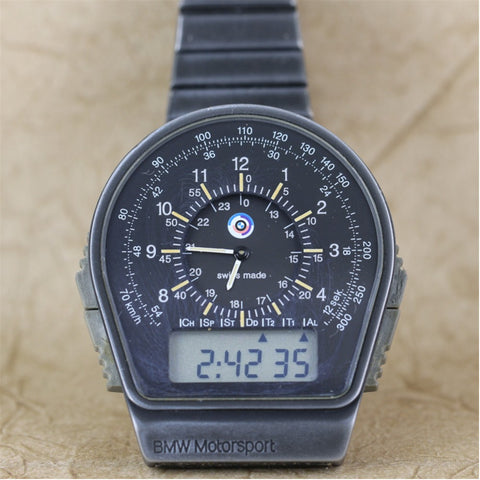 Genuine BMW Motorsport M1 3.0 CSL Procar Racing Chronograph Watch, circa 1979