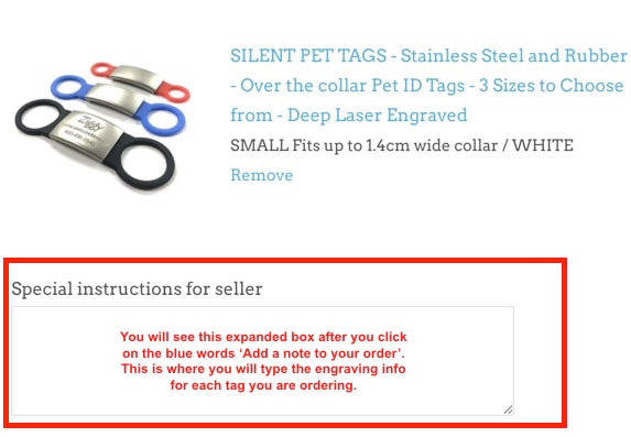 """Bella"" Dog ID Tag - 3 sizes, 9 Colors - Laser Engraved with your Custom Text"