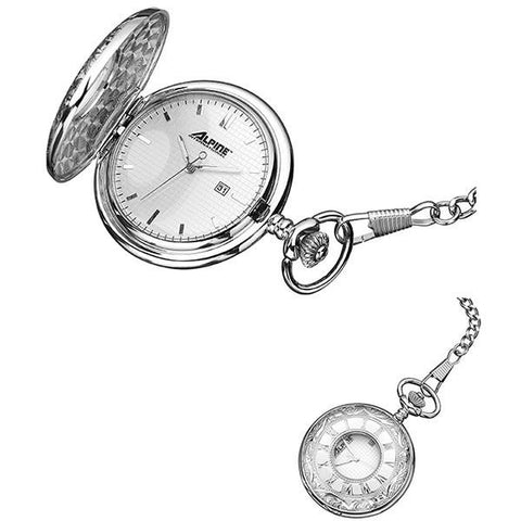 Pocket Watch - Engravable - Modern  Quartz Pocket Watch