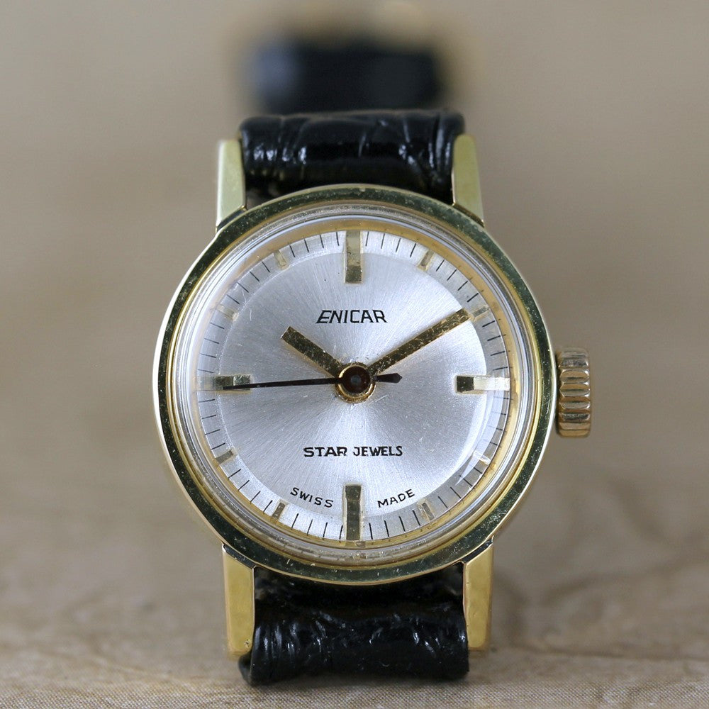 "Vintage Enicar ""Star Jewels"" Ladies Wrist Watch"