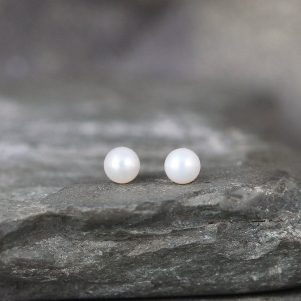 Classic 4mm Pearl Earrings