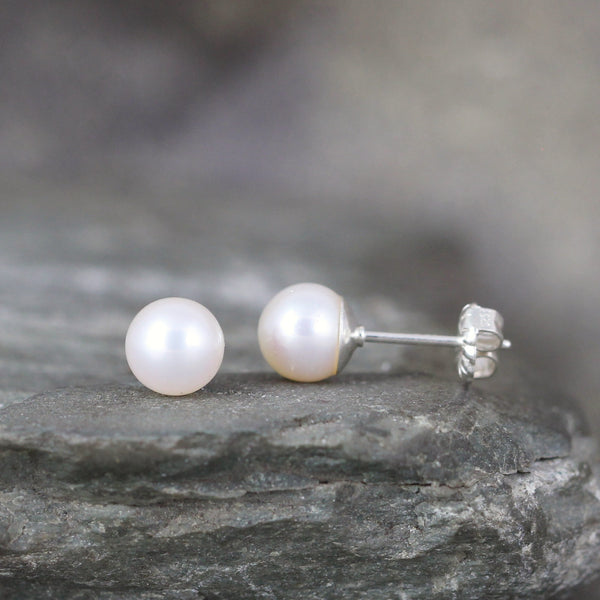 Classic 6mm Pearl Earrings