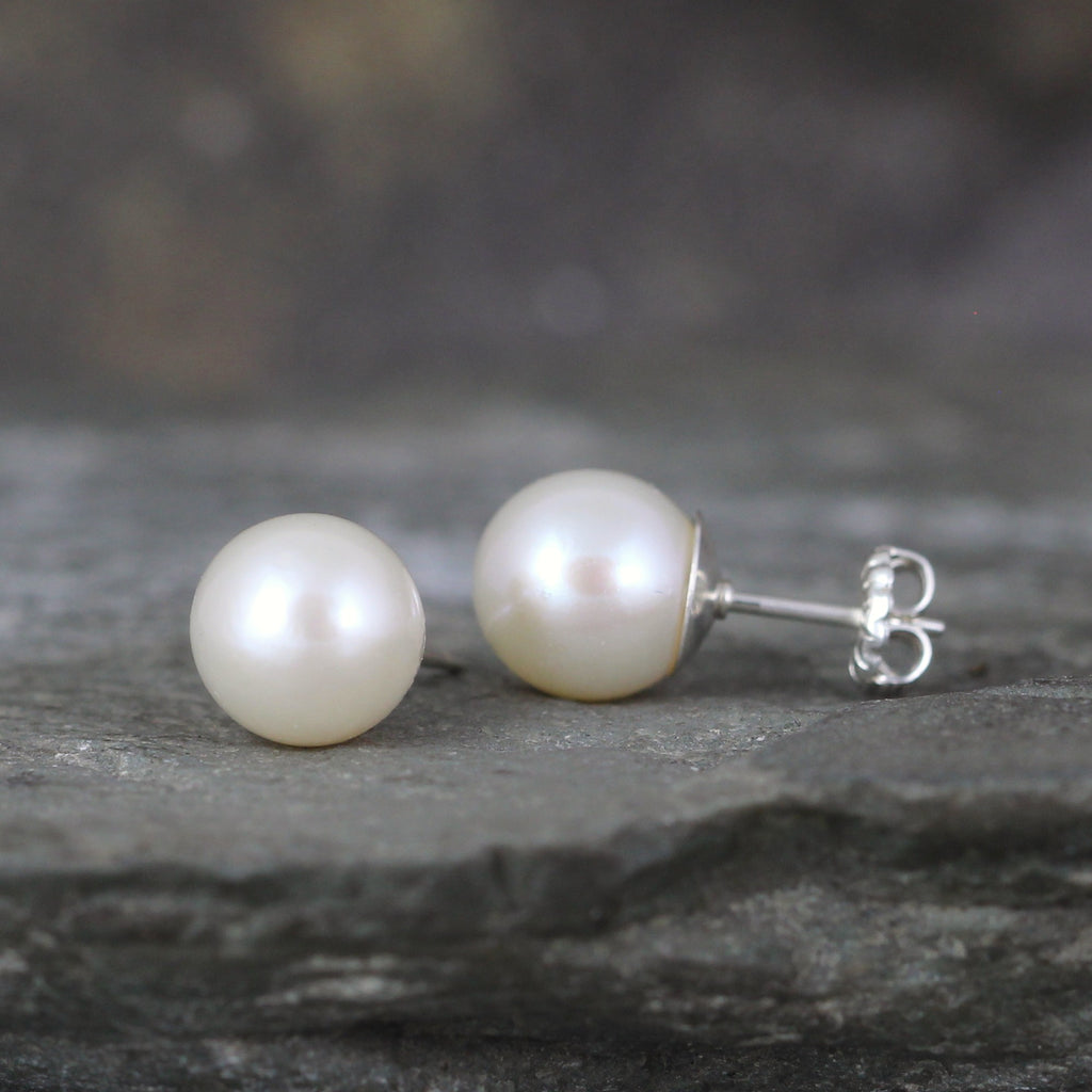 Classic 8mm Pearl Earrings