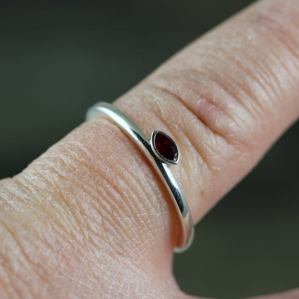 Enamel Stacking Rings - Colorful Wedding Bands
