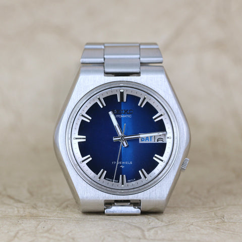 Seiko 7009-8079 - Blue Dial - Automatic, Day/Date
