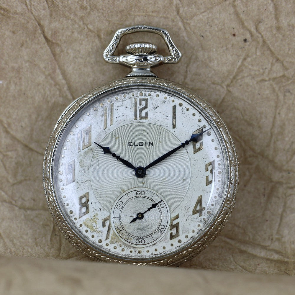 Elgin 12 size Pocket Watch circa 1924